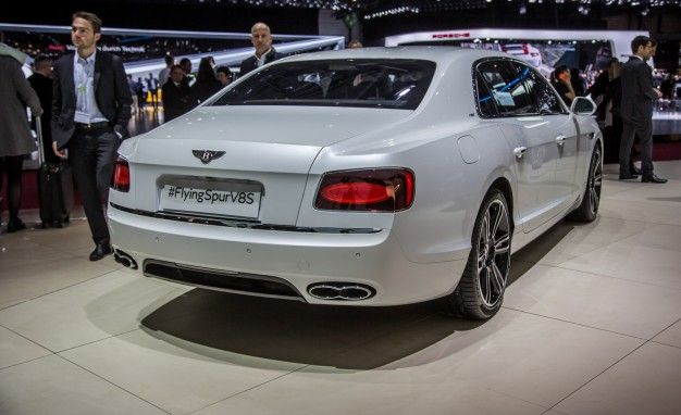 190-mph Four-Door: Bentley Flying Spur V-8 S Joins the Party – News ...
