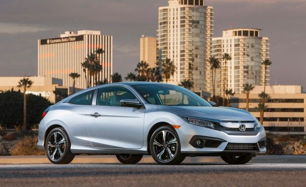 Fewer Doors, More Dollars: 2016 Honda Civic Coupe Starts $410 Higher Than the Sedan