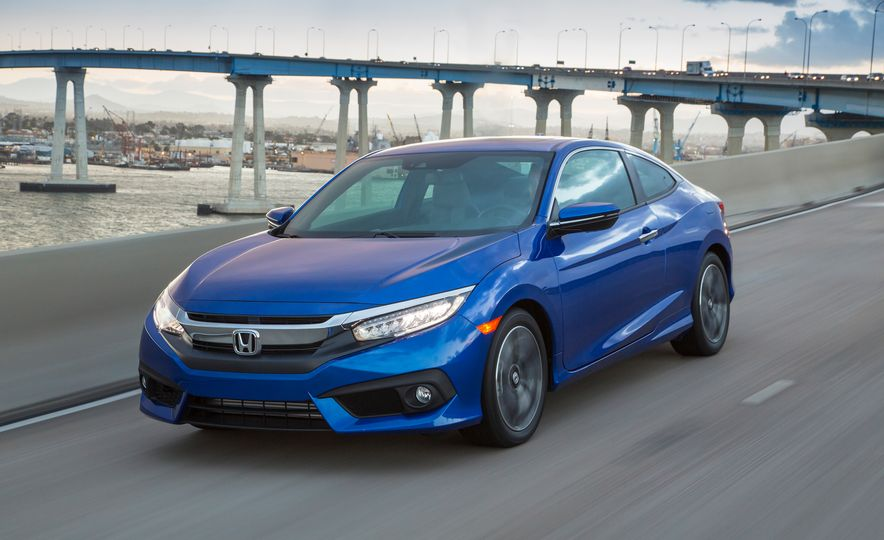 2016 Honda Civic coupe Touring - Slide 3