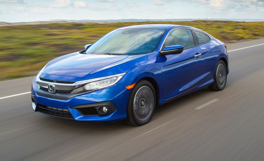 2016 Honda Civic coupe Touring - Slide 4
