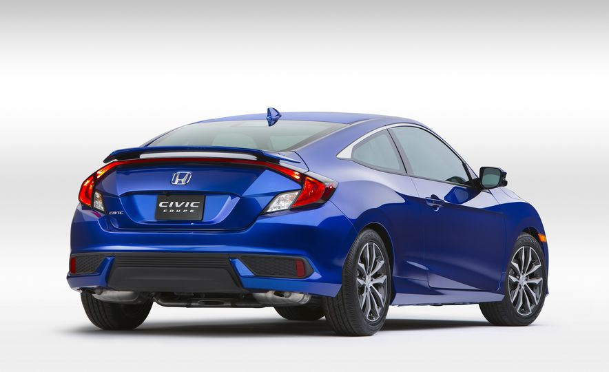 2016 Honda Civic coupe Touring - Slide 24