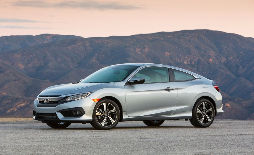 2016 Honda Civic coupe Touring - Slide 26