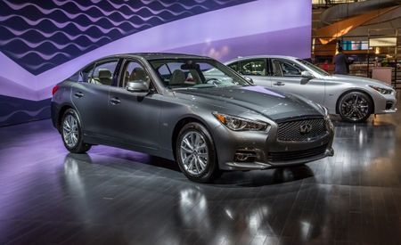 Sans Six: Infiniti Announces Pricing for Some 2016 Q50 Models