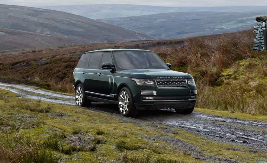 2016 Land Rover Range Rover Holland & Holland Edition - Slide 1