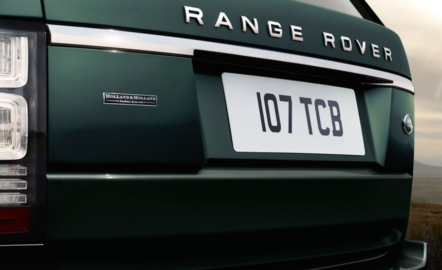 2016 Land Rover Range Rover Holland & Holland Edition - Slide 5