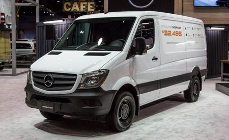 They Call Me the Workin' Van: Mercedes-Benz Sprinter Worker Model Debuts