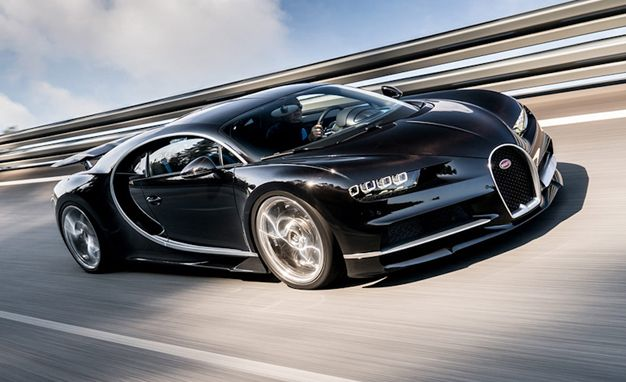 The Most Entertaining Facts, Figures, and Boasts from the Bugatti Chiron Press Release