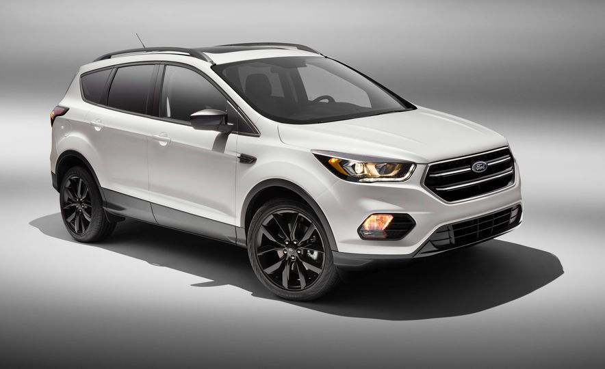 2017 Ford Escape with Sport Appearance package - Slide 1
