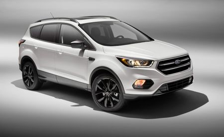 "2017 Ford Escape Sport Appearance Package: Emphasis on the Word ""Appearance"""