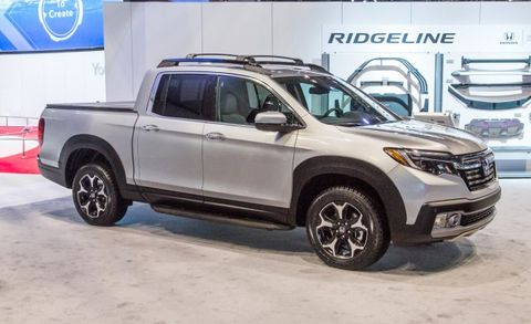2017 Honda Ridgeline Placement