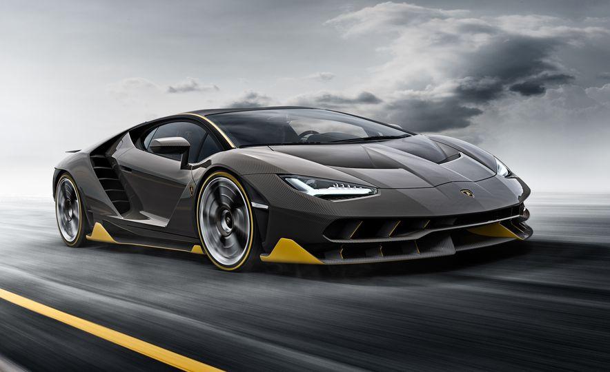 2017 Lamborghini Centenario LP770-4 - Slide 1