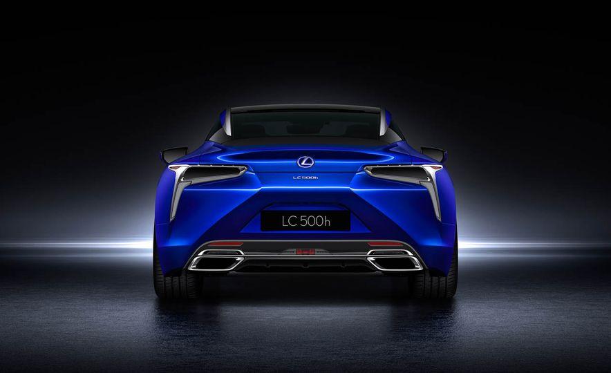 2018 Lexus LC500h - Slide 42
