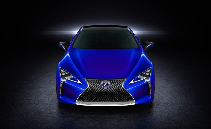 2018 Lexus LC500h - Slide 44