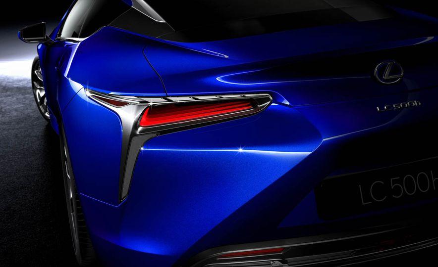 2018 Lexus LC500h - Slide 48