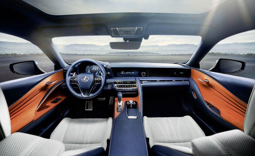 2018 Lexus LC500h - Slide 52