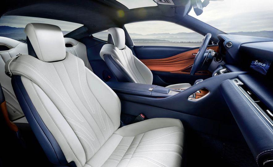2018 Lexus LC500h - Slide 53