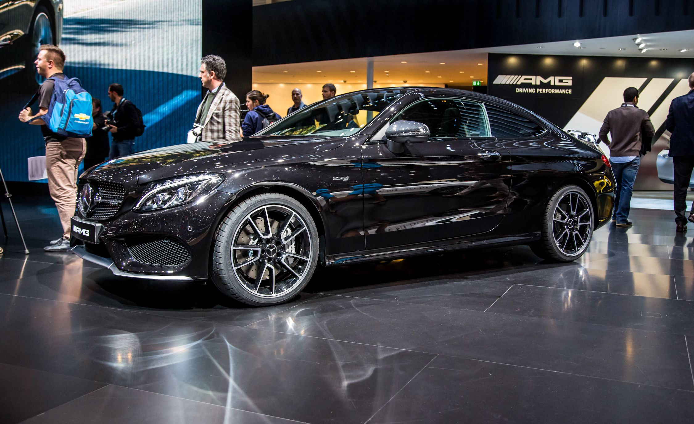 2017 mercedes amg c43 coupe the bridge between c300 and c63