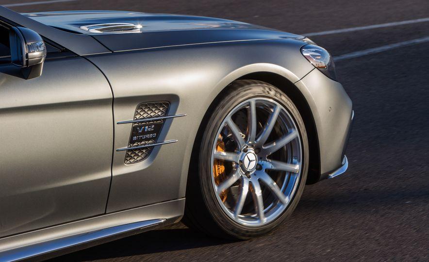 2017 Mercedes-AMG SL65 - Slide 63
