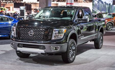 2017 Nissan Titan Half-Ton Pickup Detailed