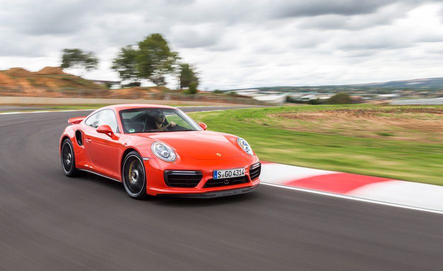 2017 Porsche 911 Turbo S - Slide 1
