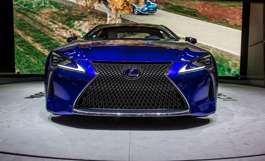 2018 Lexus LC500h - Slide 1