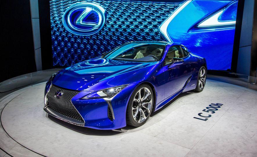 2018 Lexus LC500h - Slide 3
