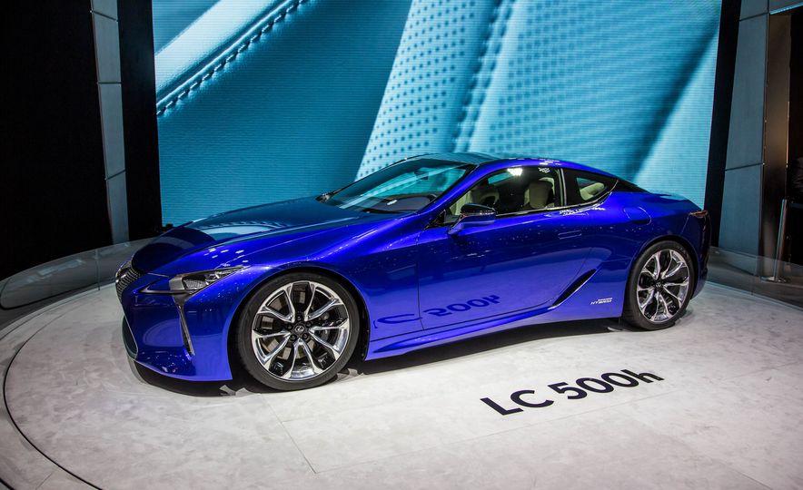 2018 Lexus LC500h - Slide 4