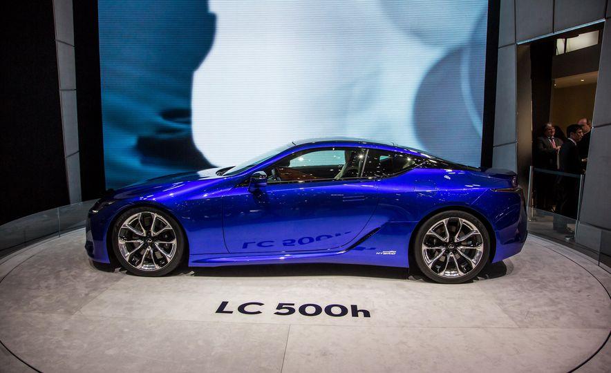 2018 Lexus LC500h - Slide 5