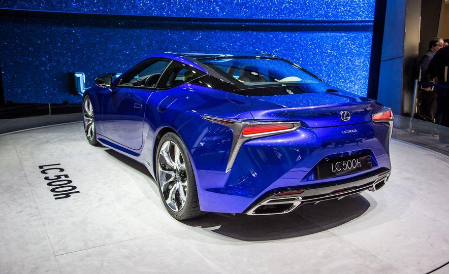 2018 Lexus LC500h - Slide 7