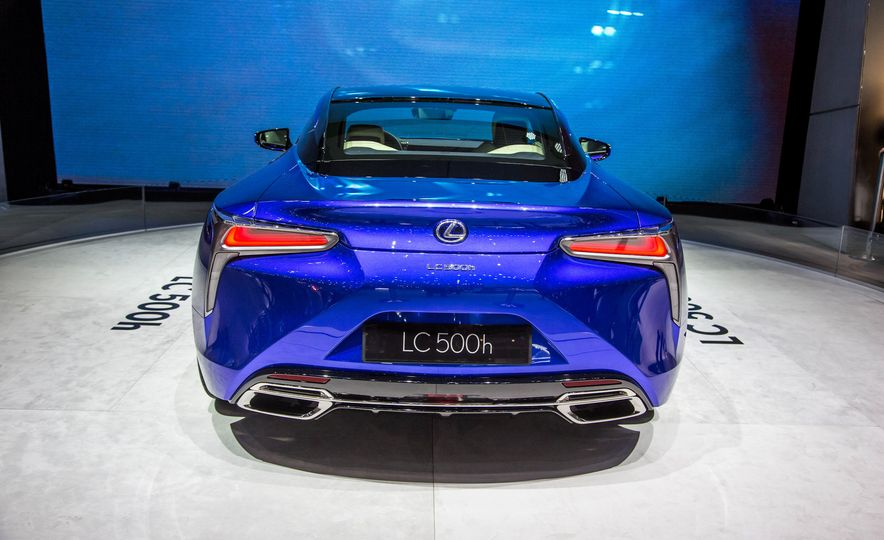 2018 Lexus LC500h - Slide 8