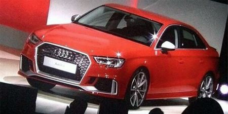 Audi RS3 Sedan Image Leaked—Yes, It's the RS3 and Yes, It's Coming
