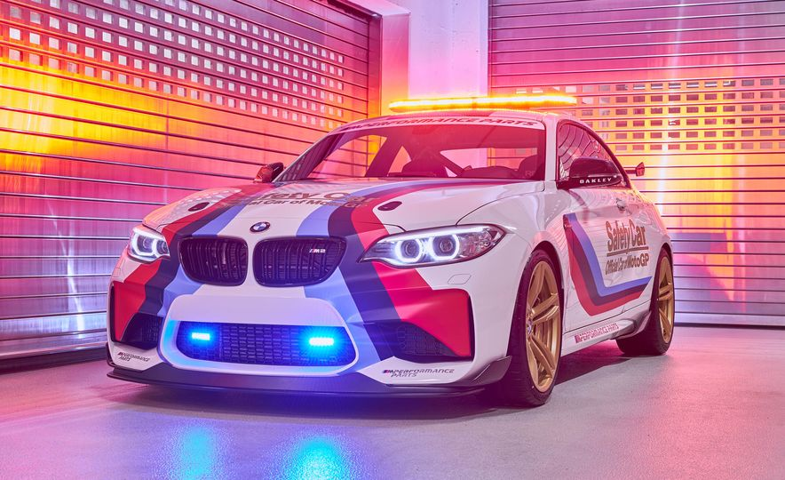 BMW M2 MotoGP safety car - Slide 1