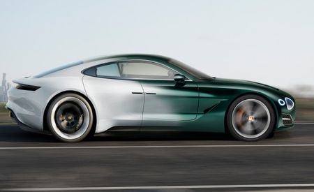 Bentley's First EV Likely To Be a Sedan, Might Not Use Porsche Tech