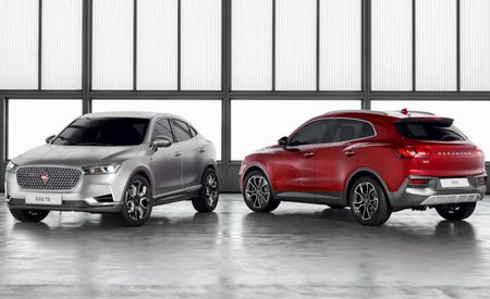 Resurrected Borgward Brand Turns Up in Geneva with Three SUVs