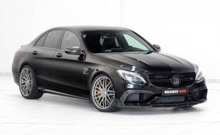 C Insanity: Brabus Tunes Mercedes-AMG C63 S to 650 Horsepower