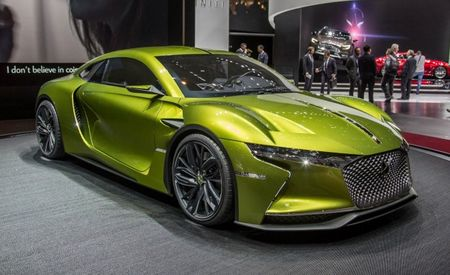 The DS E-Tense: An Electric Supercar with a French Accent