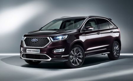 Ford Unveils New Edge, S-Max, and Mondeo Five-Door in Upscale Vignale Trim, Kuga Vignale Concept