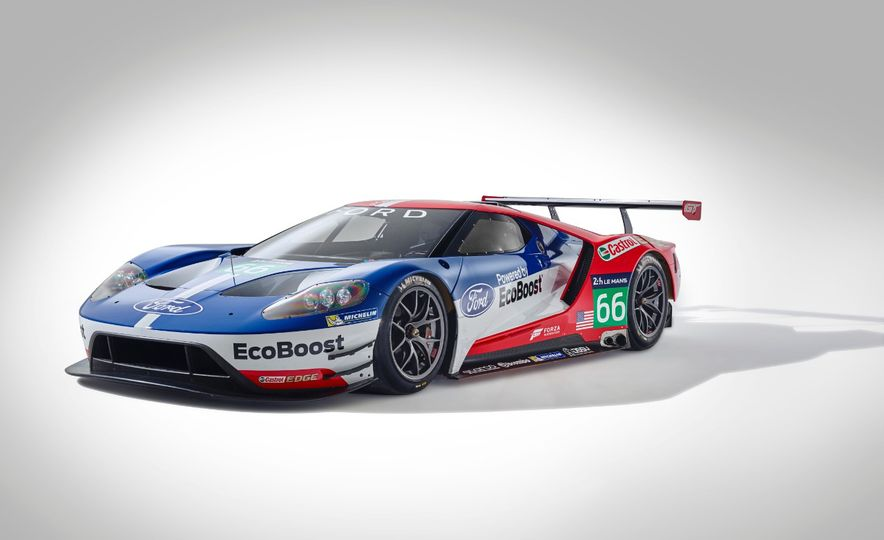 Ford GT race car - Slide 23