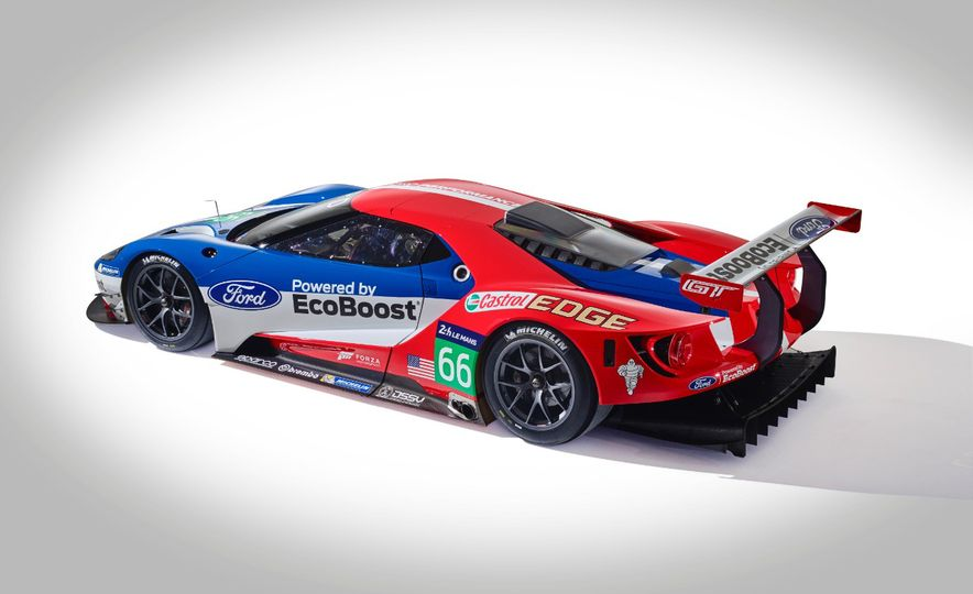 Ford GT race car - Slide 26
