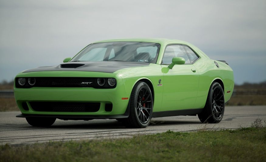 hennessey hpe1000 dodge challenger