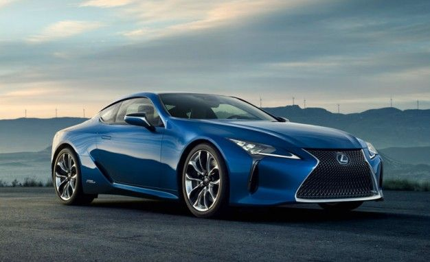 Yep, the New Lexus Coupe Will Get a Hybrid Model: the LC500h