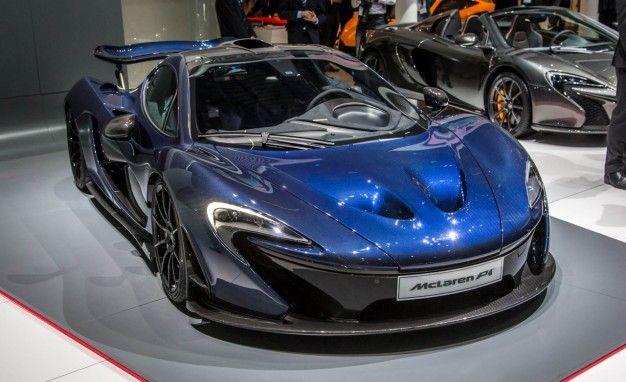 McLaren's Geneva Teasers: Bare Carbon P1, Special 675LT Spider