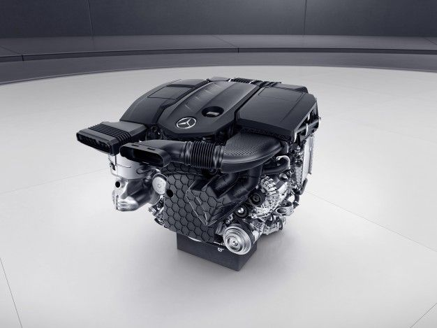 Take a Peek at the New Mercedes Four-Cylinder Diesel – News – Car ...
