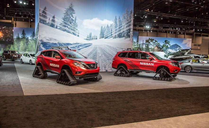 Nissan Murano and Pathfinder Winter Warrior concept - Slide 1