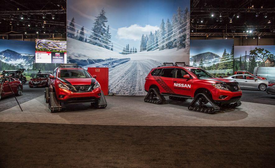 Nissan Murano and Pathfinder Winter Warrior concept - Slide 2