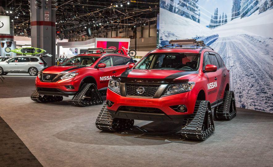Nissan Murano and Pathfinder Winter Warrior concept - Slide 3