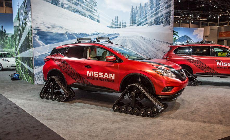 Nissan Murano and Pathfinder Winter Warrior concept - Slide 4