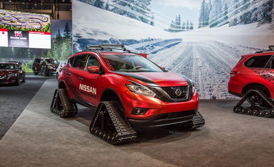 Nissan Murano and Pathfinder Winter Warrior concept - Slide 5