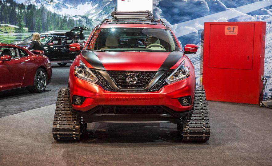 Nissan Murano and Pathfinder Winter Warrior concept - Slide 6