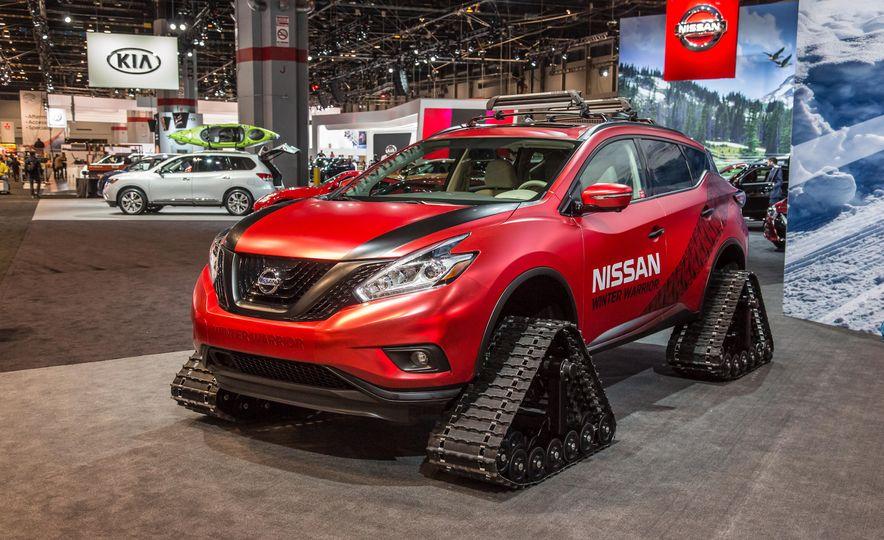 Nissan Murano and Pathfinder Winter Warrior concept - Slide 7